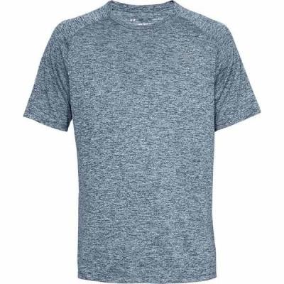 アンダーアーマー シャツ メンズ トップス Tech 2.0 Short-Sleeve Shirt - Men's Academy/Steel