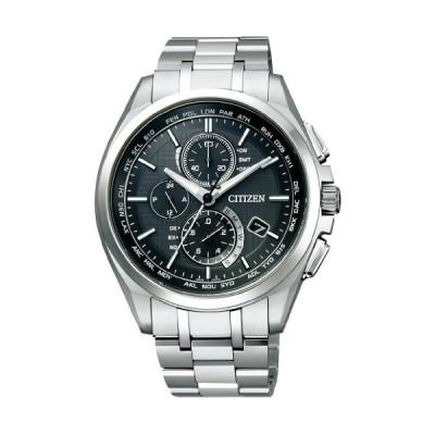 [シチズン] 腕時計 アテッサ Eco-Drive エコ・ドライブ電波時計 ダイレクトフライト 針表示式 薄型 マスコミモデル AT8040-57E