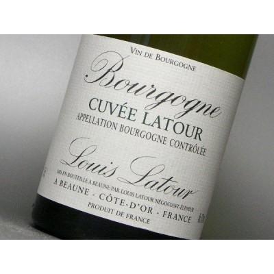 ルイ ラトゥール ブルゴーニュ キュヴェ ラトゥール 白 2017 ハーフ 375ml ワイン