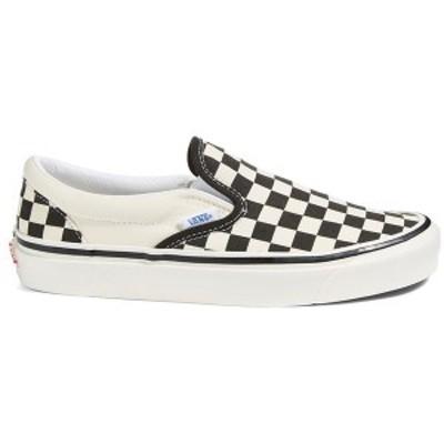 バンズ レディース スニーカー シューズ Vans Classic Slip-On 98 DX Shoes - Women's (Anaheim Factory) Checker