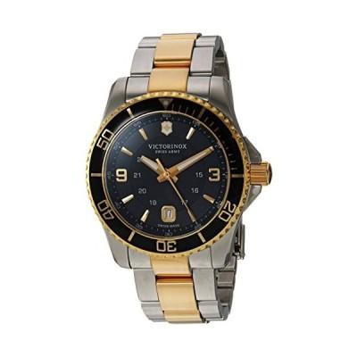 腕時計 ビクトリノックス スイス 249125 Victorinox Men's Maverick Swiss-Quartz Watch with Two-Tone