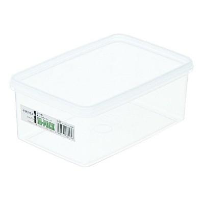 (まとめ買い)エンテック 保存容器 ハイパック 角型 S-25 1.47L 〔×5〕