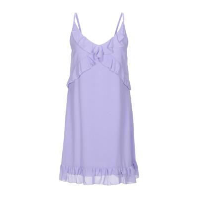 KAOS JEANS ミニワンピース&ドレス ライラック 40 ポリエステル 100% ミニワンピース&ドレス