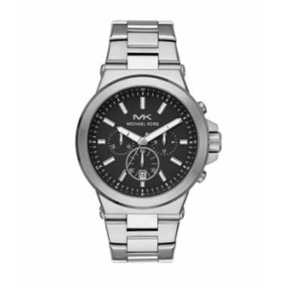 マイケルコース メンズ 腕時計 アクセサリー Men's Dylan Chronograph Stainless Steel Watch Silver