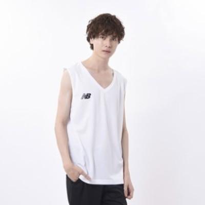 インナーシャツ Vネックノースリーブ New Balance ニューバランス Tシャツ (JMTF1022)