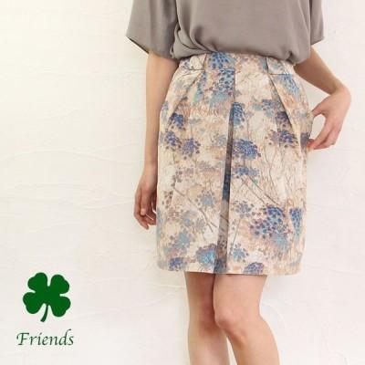 【sale50%off】【返品不可】【ゆうパケット対応】yangany(ヤンガニー)オリジナルフラワープリントスカート