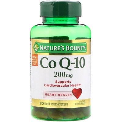 Co Q-10、200 mg、急速放出ソフトジェル80個
