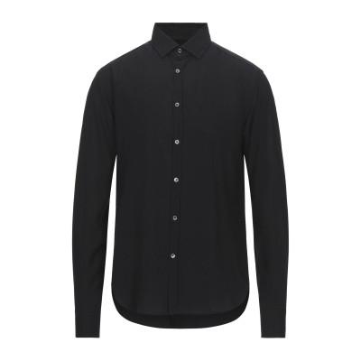 LIBERTY ROSE シャツ ブラック 40 レーヨン 100% シャツ