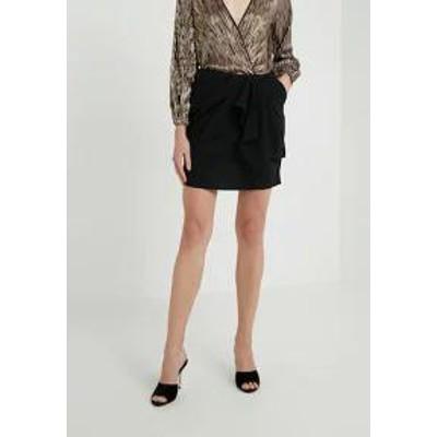 The Kooples レディーススカート The Kooples Mini skirt - black black