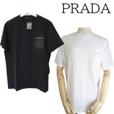 【新品■正規品■送料無料■ギフト包装無料】PRADA プラダ ポケットロゴTシャツUJN250 Tシャツ メンズ 男性 ギフト プレゼント 誕生日