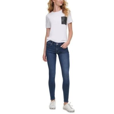 ダナキャランニューヨーク レディース デニムパンツ ボトムス Bleecker Shaping Skinny Jean