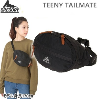 グレゴリー ティーニーテールメイト/ブラック(1196511041)GREGORY TEENY TAILMATE ウエストバッグ ボディバッグ ヒップバッグ
