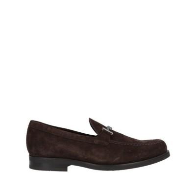 トッズ TOD'S メンズ ローファー シューズ・靴 loafers Dark brown