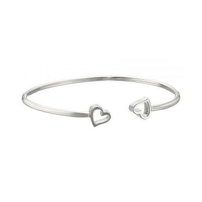 Alex and Ani アレックスアンドアニー レディース 女性用 ジュエリー 宝飾品 セット Formidable Heart Cuff Bracelet - Sterling Silver