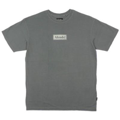 アフェンズ メンズ 半袖 Tシャツ ガンメタル オーバーサイズ スケート サーフ AFENDS RETURN OVERSIZED FIT TEE GUNMETAL JM202016-1