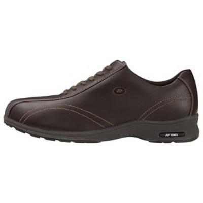 ウォーキングシューズ YONEX ヨネックス MC30W-040 (ダークブラウン) パワークッション ワイド メンズ スニーカー 靴 お取り寄せ商品