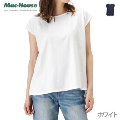 Free Nature(フリーネイチャー) 切替Tシャツ 362573053A レディース