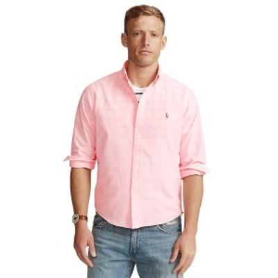 ラルフローレン メンズ シャツ トップス Men's Classic-Fit Chambray Shirt Pink