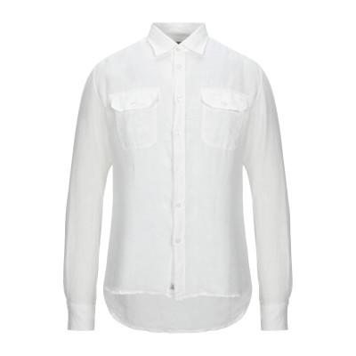 シーピーカンパニー C.P. COMPANY シャツ ホワイト S リネン 100% シャツ