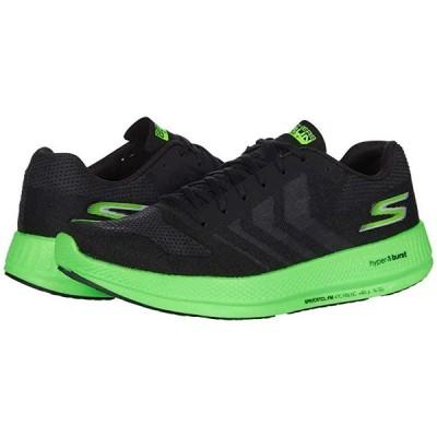 スケッチャーズ Go Run Razor 3+ メンズ スニーカー 靴 シューズ Black/Green