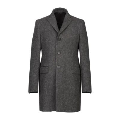 トネッロ TONELLO コート スチールグレー 54 ウール 100% コート
