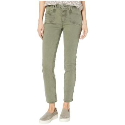ペイジ ユニセックス パンツ Cindy Jeans w/ Set in Pockets in Vintage Emerald Moss