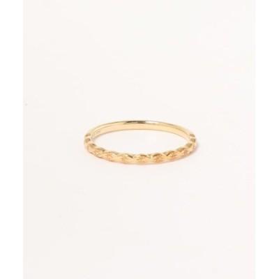 指輪 【K10YG】パターン リング スター