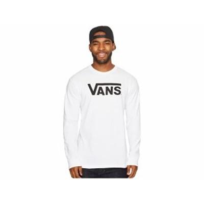 (取寄)バンズ クラシック L/S ティー Vans Classic L/S Tee White/Black