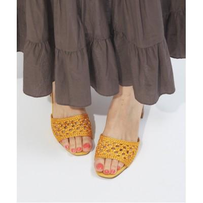 ABAHOUSE PICHE / 【WEB限定】メッシュ編みミュールサンダル WOMEN シューズ > サンダル