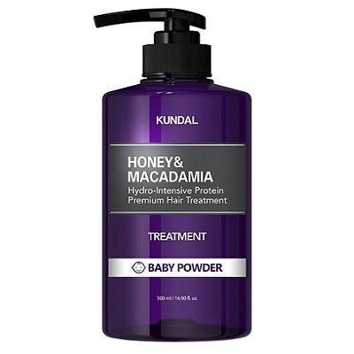 [クンダル/Kundal]ハニーアンドマカダミア蛋白質ヘアトリートメントベビーパウダーの香り500ml