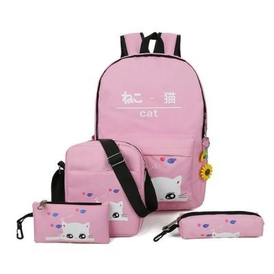 リュックサック おしゃれ 女の子 通学 中学生 高校生  リュック 韓国風 鞄 リュックバッグ レディース キャンバスリュック  アウトドア 大容量 カジュアル