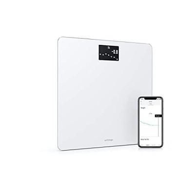 (新品)  Withings Body - Digital Wi-Fi Smart Scale with Automatic Smartphone App Syn
