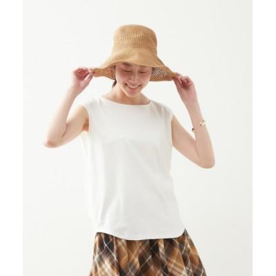 tシャツ Tシャツ きれいめノースリーブカットソー