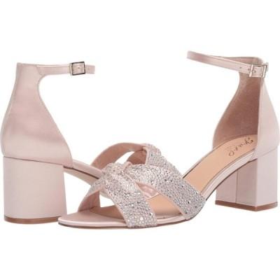 バッジェリー ミシュカ Jewel Badgley Mischka レディース サンダル・ミュール シューズ・靴 Nicolette Champagne/Clear