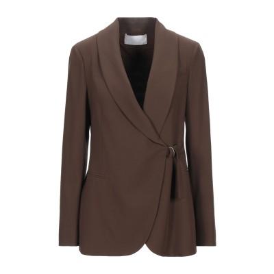 ファビアナフィリッピ FABIANA FILIPPI テーラードジャケット ダークブラウン 40 バージンウール 100% テーラードジャケット