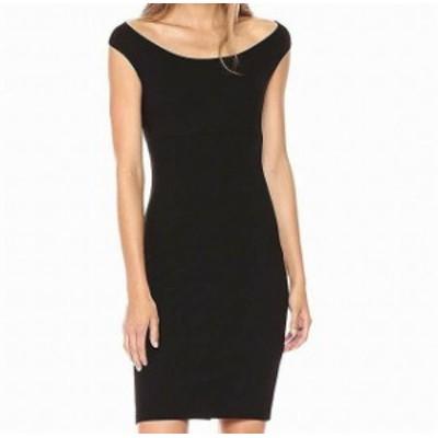 Bardot バルドー ファッション ドレス Bardot NEW Black Womens Size Small S Criss Cross Back Sheath Dress