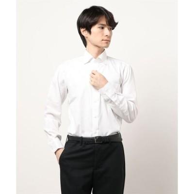 シャツ ブラウス 【EASYCARE】ドビーツイルシャツ