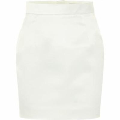 マテリエルティビリシ Materiel Tbilisi レディース ミニスカート スカート Satin miniskirt White