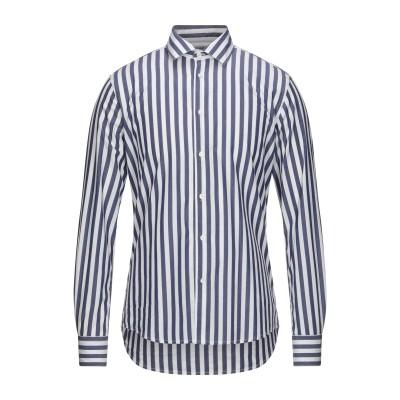 FRADI シャツ ダークブルー 39 コットン 100% シャツ