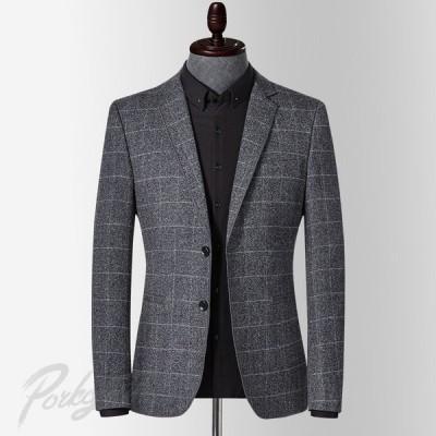 ジャケット ブレザー スーツ 長袖 ビジネス 紳士用 通勤 春秋 テーラードジャケット メンズ テーラード 30代40代50代 上品