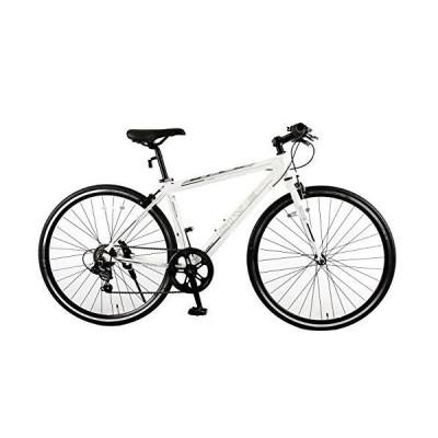 スピードワールド(SPEED WORLD) クロスバイク9.0 7段変速 700*25c 3色 (ホワイト)