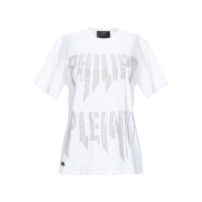 PHILIPP PLEIN T シャツ ホワイト S コットン 100% T シャツ