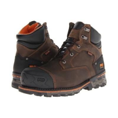 ティンバーランド Timberland PRO メンズ ブーツ シューズ・靴 Boondock WP 6' Comp Toe Brown