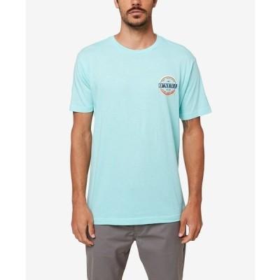 オニール Tシャツ トップス メンズ Men's Popcircle T-shirt Blue