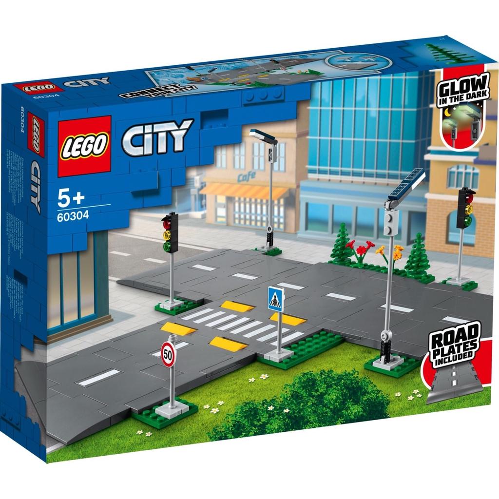 LEGO 60304 城鎮系列 道路底板【必買站】樂高盒組