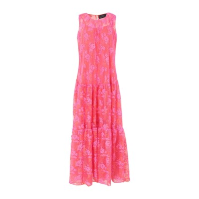 ジャンルカ・カパンノロ GIANLUCA CAPANNOLO ロングワンピース&ドレス オレンジ 42 ナイロン 100% ロングワンピース&ドレス