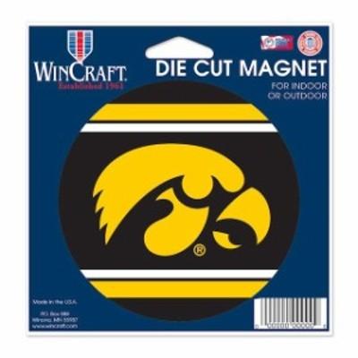 WinCraft ウィンクラフト スポーツ用品  WinCraft Iowa Hawkeyes 5 Die-Cut Car Magnet