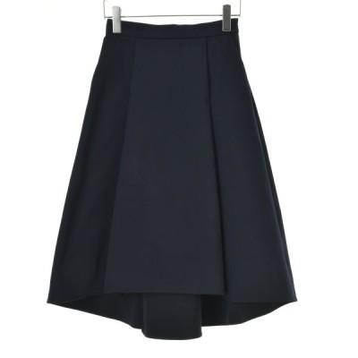 m's select タックフレアヘム スカート