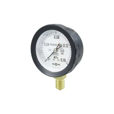 一般圧力計A形Φ75(簡易防滴型) TOKO(東洋計器興業) BL-AT3/8G 75×0.16MPa(簡易防滴形)