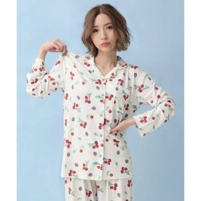 ルームウェア パジャマ とろみタッチパジャマ 上下セット